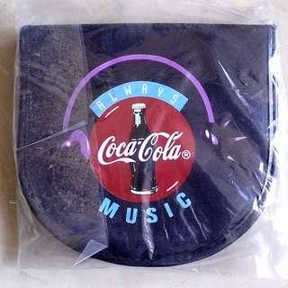 全新未用過90年代產品可口可樂CD套一個