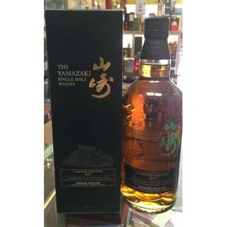 山崎 2017 Limited Edition Single Maly Whisky