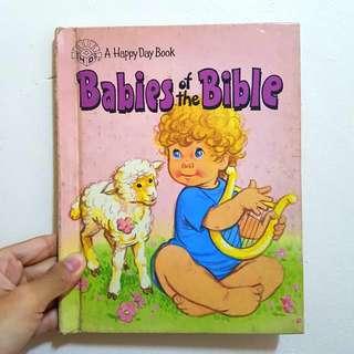 BABIES OF THE BIBLE - Children's book