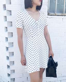 Black dot dress size 12