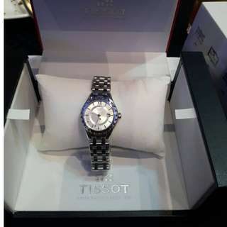 ORIGINAL Tissot Lady Silver Dial Stainless Steel Watch