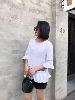 White top size 12