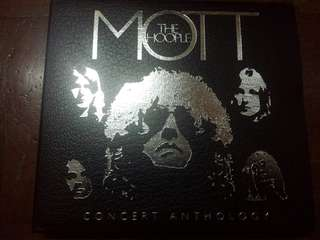 Music CD (2xCD): Mott The Hoople ‎– Concert Anthology