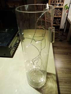 Decorative Glass Vase (15cm x 50cm)