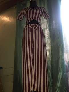 Stripe Terno top /pants