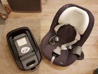 Maxi-cosi 1-4歲 ISOFIX安全座椅