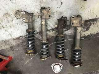 Subaru coilover ( hks hypermax)