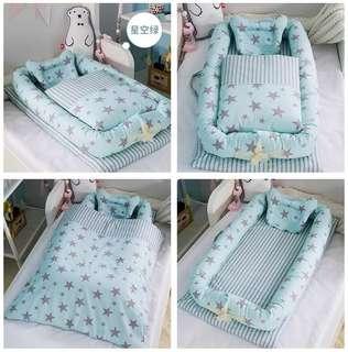 嬰兒分隔床(洗完只用過數次)