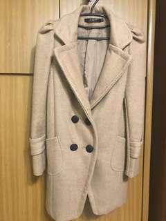 🚚 氣質駝色公主大衣