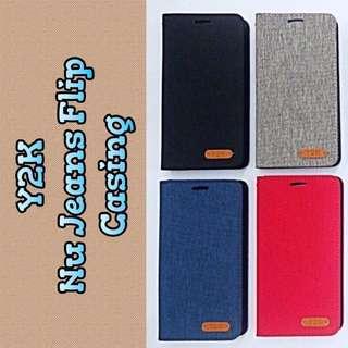 Y2K Nu Jeans Flip Case Casing Cover