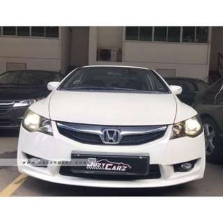 Honda Civic 1.8 (Facelift) For Rent - $350/Week ( Grab/Personal )