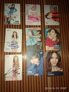 Twice签名卡(金签)