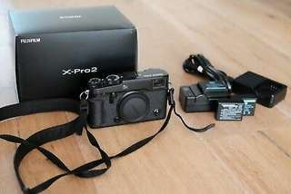 Fujifilm X Series X-Pro2 Digital Camera - (black- Body Only)
