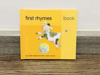 first rhymes book (mother and baby)