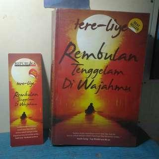 Novel Best Seller Rembulan Tenggelam di Wajahmu – Tere Liye