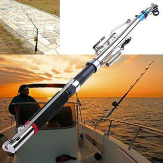 Automatic Fishing Rod Pole Sensitive Telescopic Ice Glass Fiber Sea Device