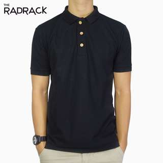 Basic Black Polo T-Shirt