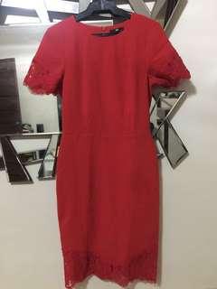 Sexy Elegant Red H&M Dress✔️❤️