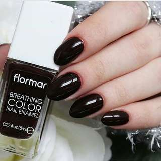 Nail Polish Halal Flormar Breathing Color Nail Enamel