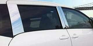 SIENTA 170系 車身車窗中柱B柱不銹鋼電镀裝飾條亮框條