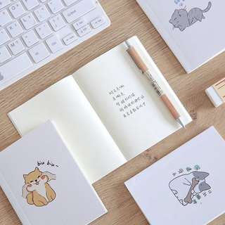 [po] a6 cat notebooks