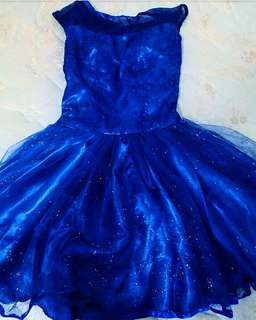 Prom Gown Cinderella Disney Inspired Royal Blue