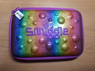 Smiggle rainbow pencil case
