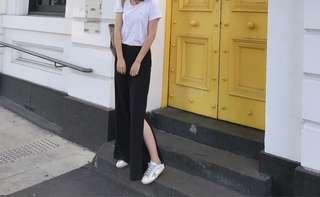 Black pants size 8