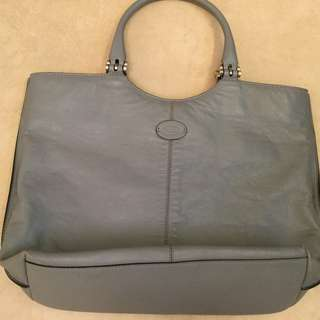 Tods leather tote