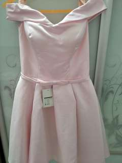 Brand New Off Shoulder Pink Dress with tag *2 for $20*