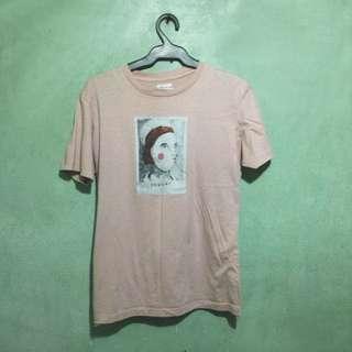 Artwork Pink Shirt
