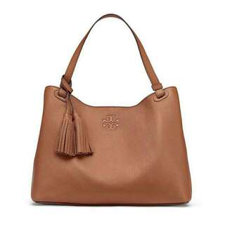 TORYBURCH thea center zip tote