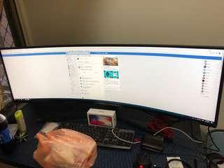 三星 C49J890DKE 49吋電競螢幕