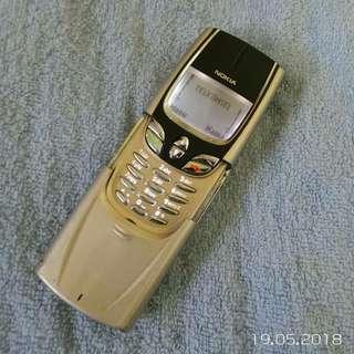 Nokia 8850 masterpiece gold original