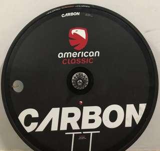 American Classic TT Disc wheel carbon (Fixed gear)