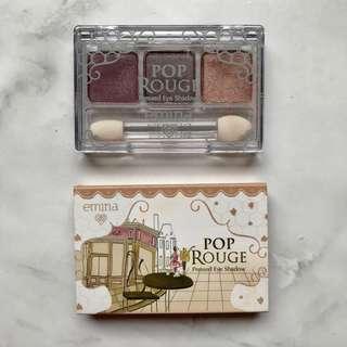 [Emina] Pop Rouge Pressed Eye Shadow #Romantic