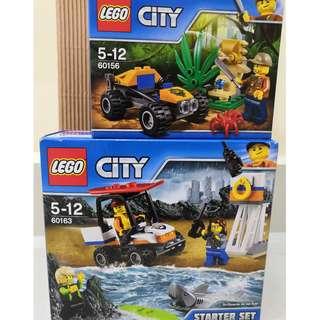 LEGO CITY 60163 + 60156