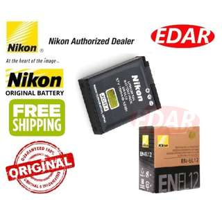 NIKON EN-EL12 LI-ION BATTERY CAMERA ««ORIGINAL & OFFICIAL NIKON»»