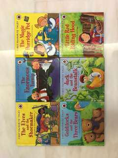 First Favourite Tales ( bundle of 6 titles, ladybird)