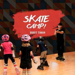 Inline Skating Lesson( Rollerblade skate camp)