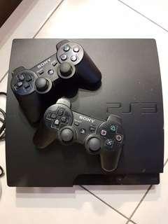 Sony PS 3 SLIM 160GB COMPLETE 2 STICK
