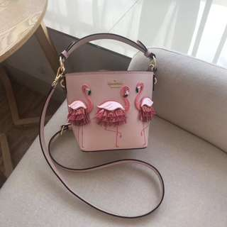 Kate Spade Flamingo Bucket Bag