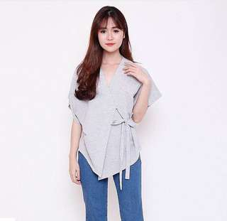 NEW *Dupe* Zara Tied Blouse