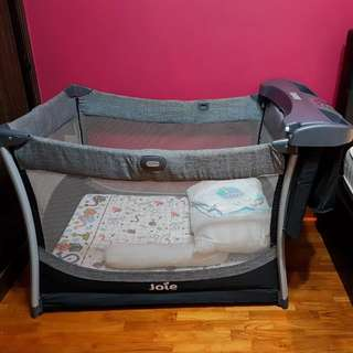 Joie Sleep Cot with Changing unit