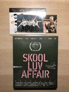 BTS skool luv affair with RM photocard