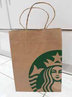 Paper Bag Starbucks