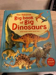 Usborne Big book of Big Dinosaurs