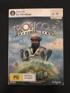 Tropico 3 - Absolute Power Expansion Pack only  [PC Game]
