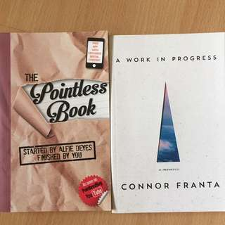 Pointlessblog and Connor Franta books!