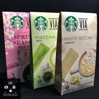 Starbucks VIA and Mint